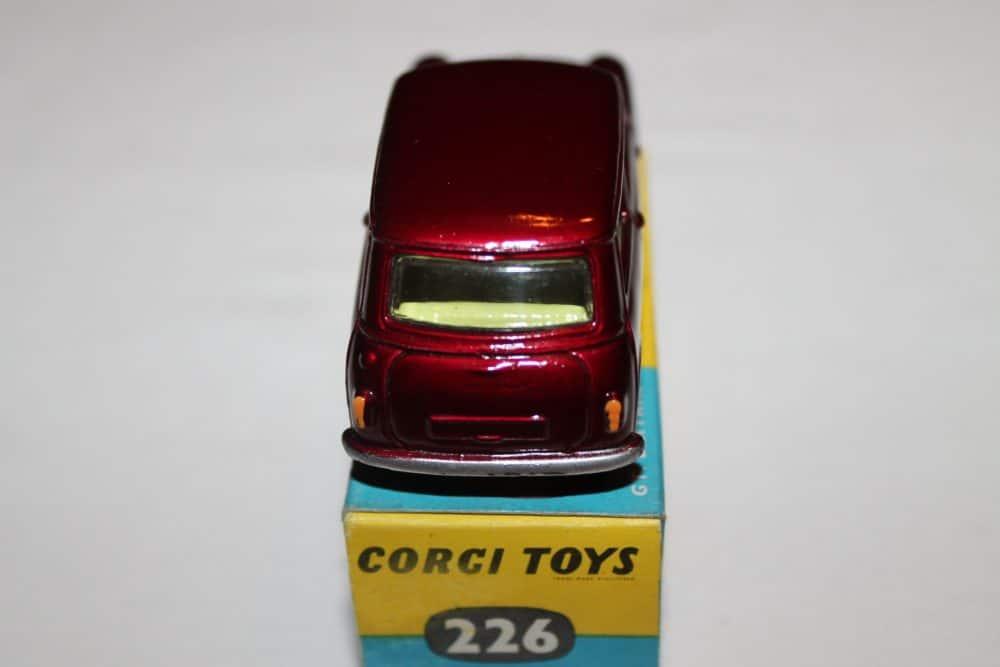 Corgi Toys 226 Morris Mini Minor-back