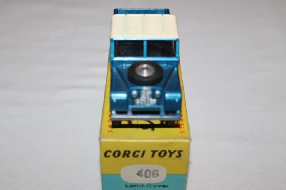 Corgi Toys 406 Land Rover (109 WB)-front