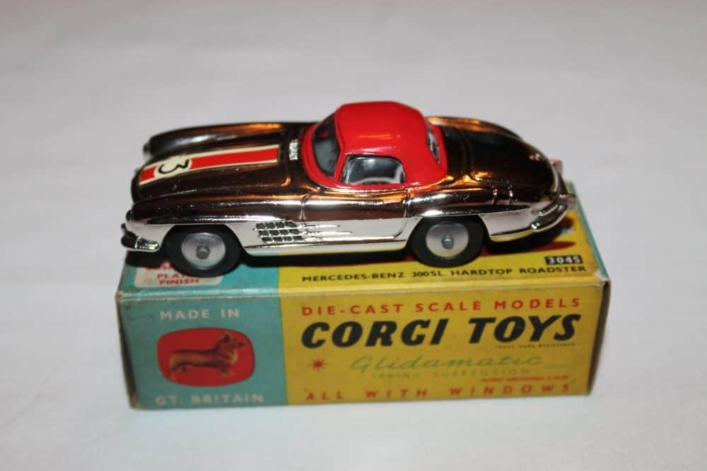 Corgi Toys 304S Mercedes Benz 300SL Hardtop Roadster