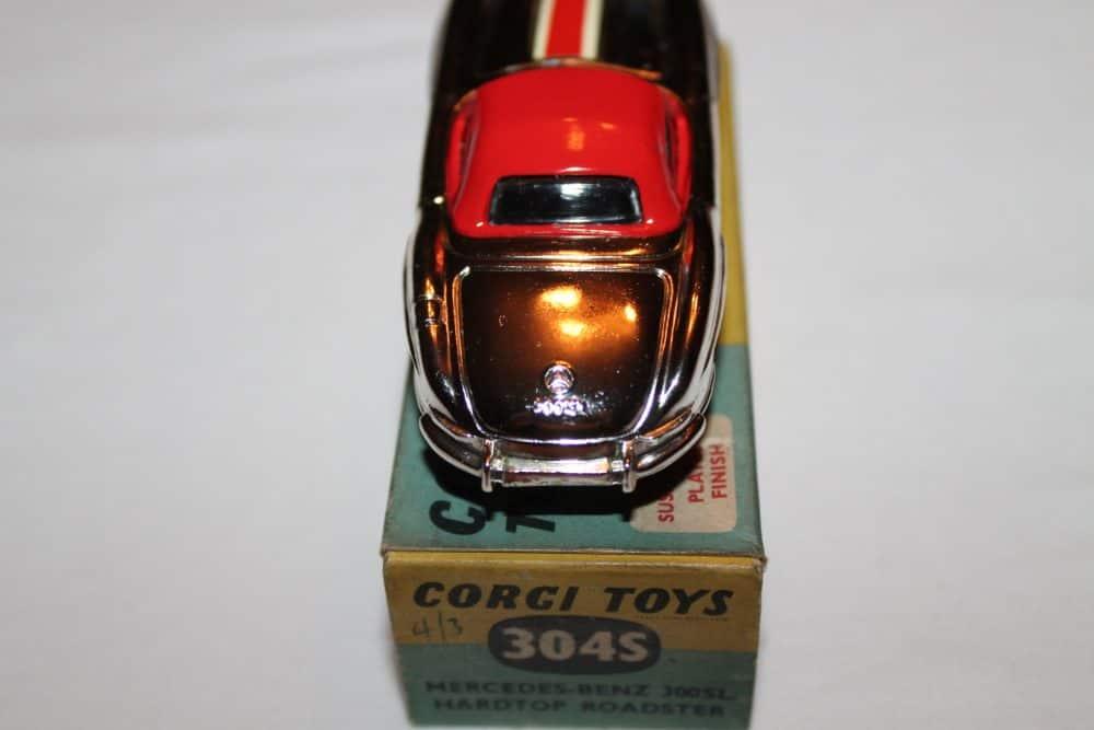 Corgi Toys 304S Mercedes Benz 300SL Hardtop Roadster-back