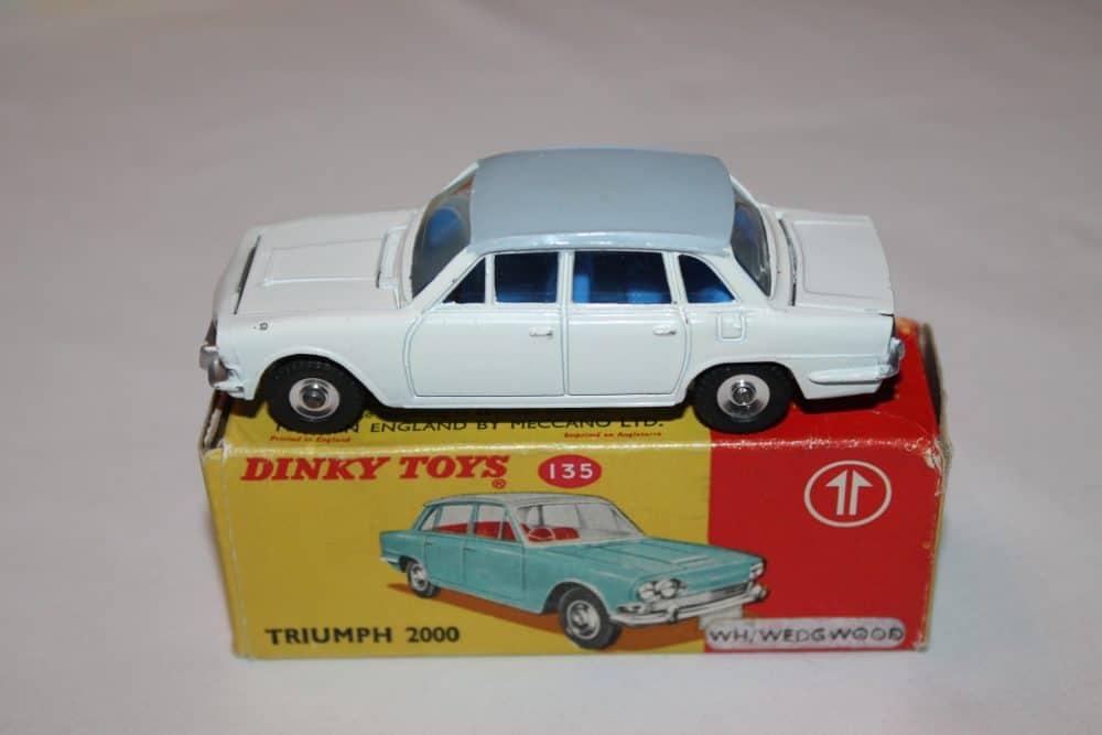Dinky Toys 135 Triumph 2000 Rare Promotional