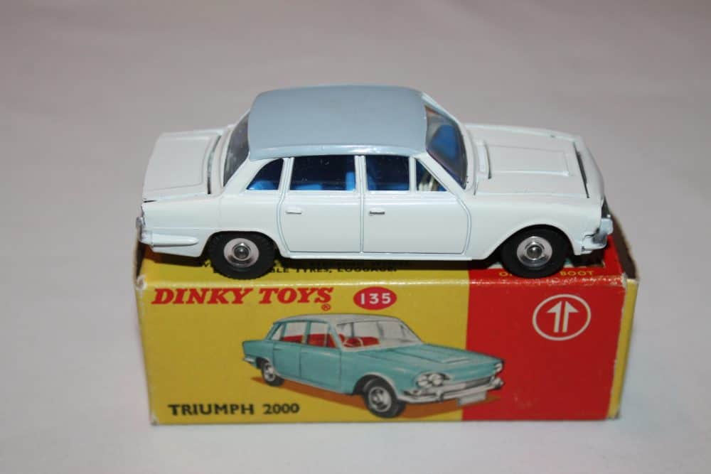 Dinky Toys 135 Triumph 2000 Rare Promotional-side