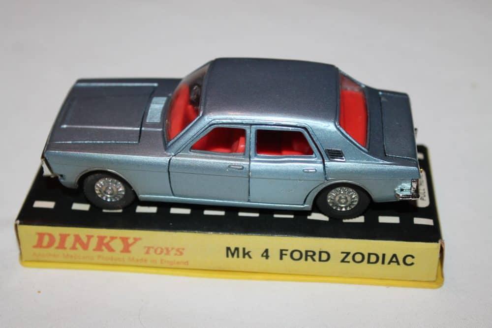 Dinky Toys 164 Mk 4 Ford Zodiac Rare Issue