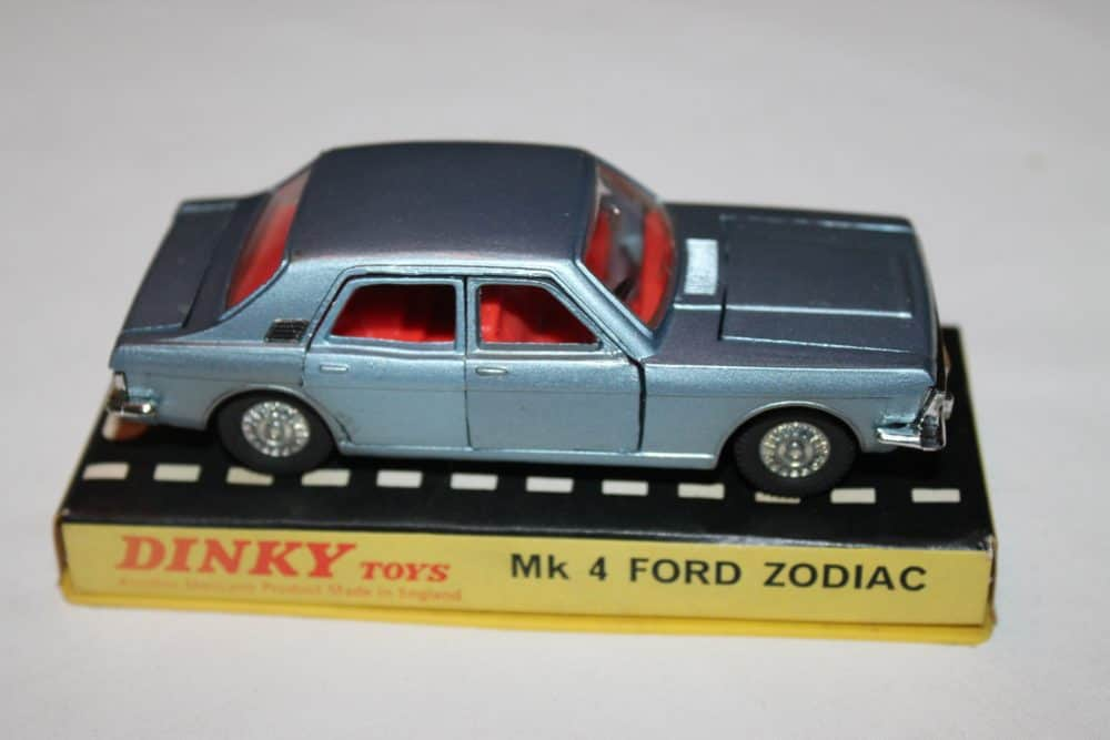 Dinky Toys 164 Mk 4 Ford Zodiac Rare Issue-side
