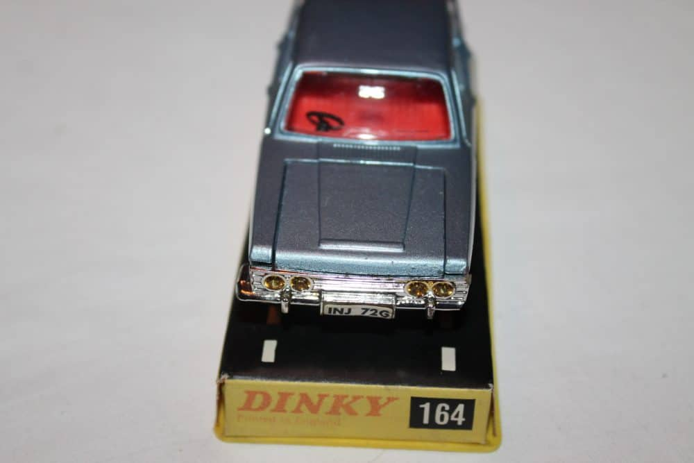 Dinky Toys 164 Mk 4 Ford Zodiac Rare Issue-front