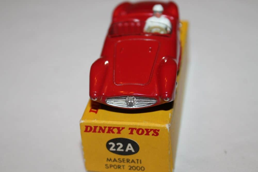 French Dinky Toys 022A Maserati Sport 2000-front