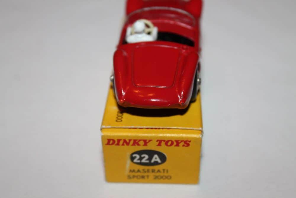 French Dinky Toys 022A Maserati Sport 2000-back