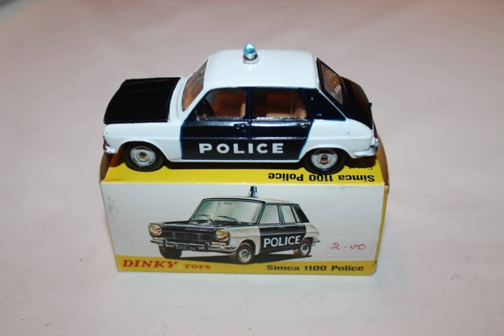 French Dinky Toys 1450 Simca 1100 Police
