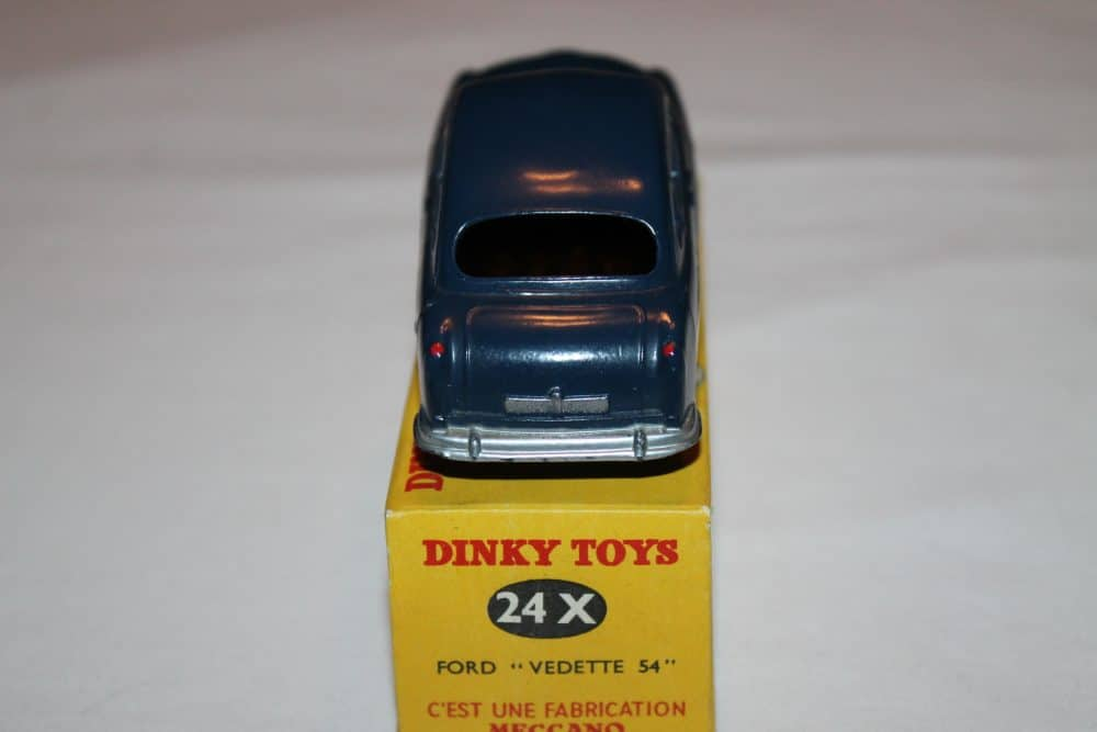 French Dinky 024X Ford Vedette 54-back
