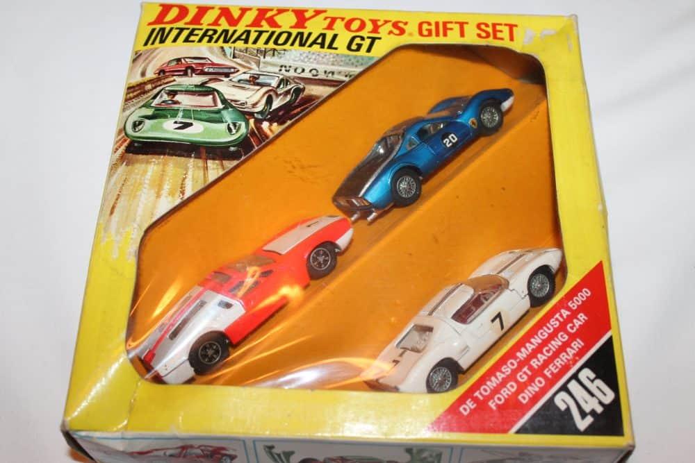 Dinky Toys 246 International GT Gift Set