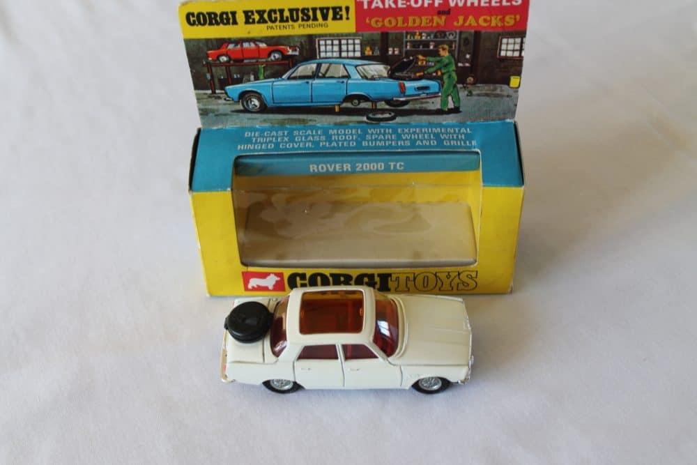 Corgi Toys 275 Rover 2000 TC-side