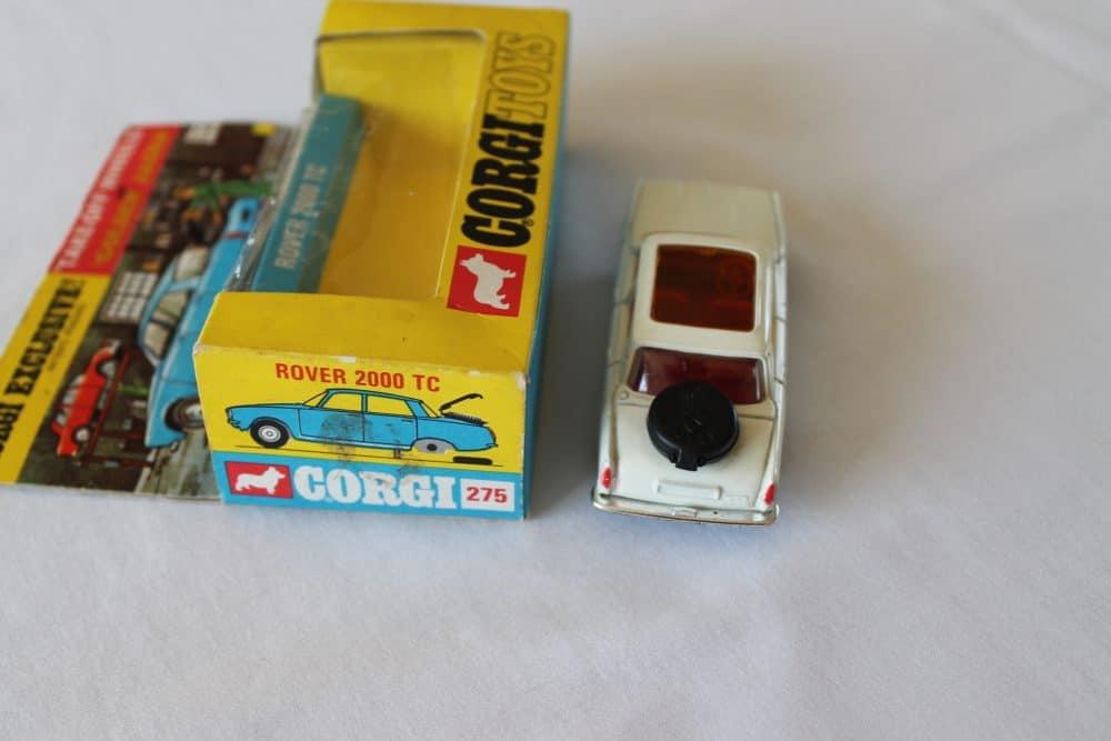 Corgi Toys 275 Rover 2000 TC-back
