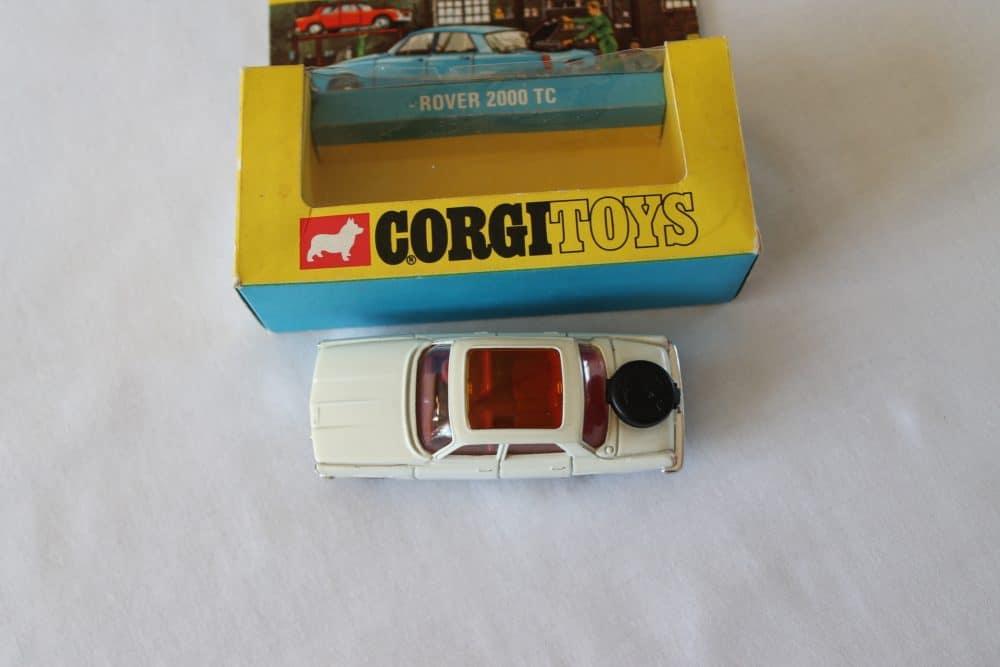 Corgi Toys 275 Rover 2000 TC-top
