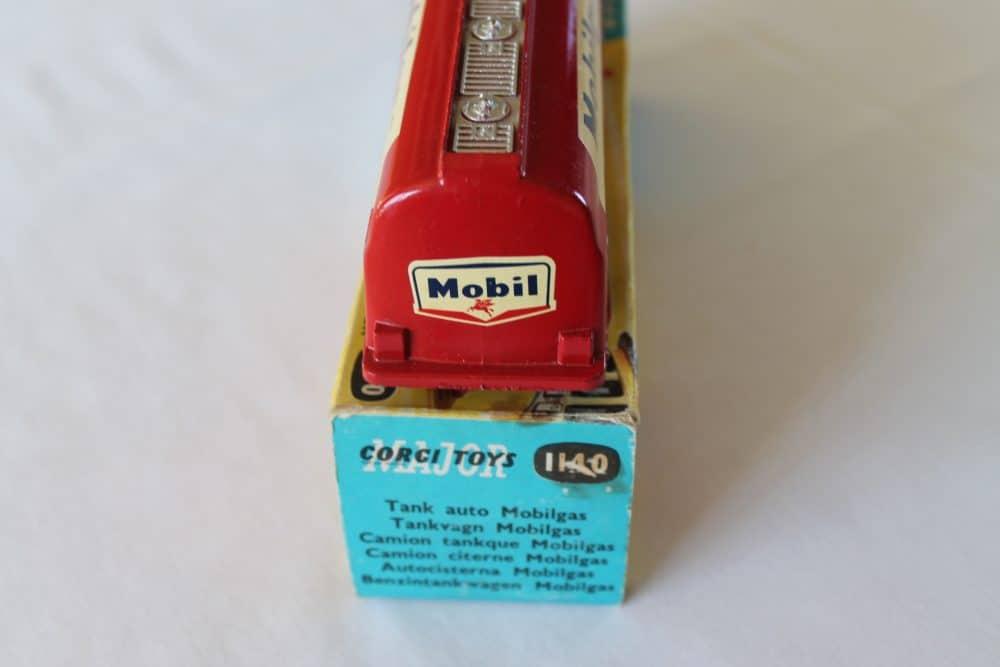 Corgi Toys 1140 Bedford Mobilgas Petrol Tanker-back