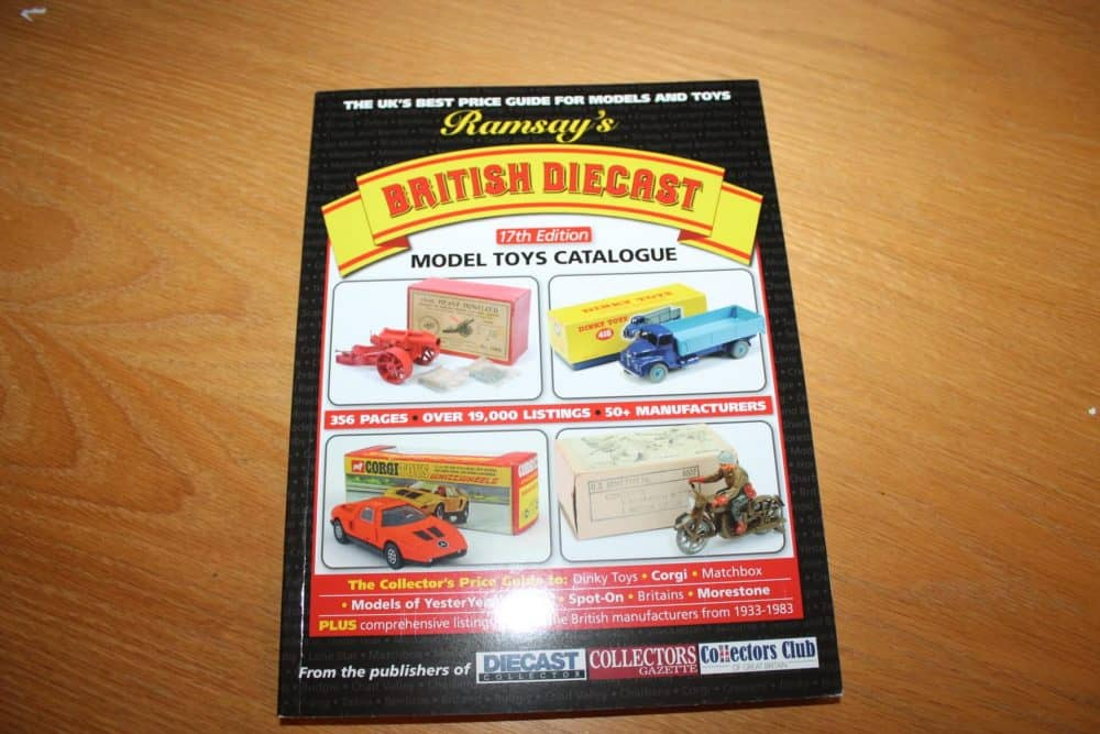 Ramsey British Diecast Catalogue 17th Edition Frontcover