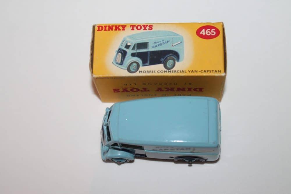 Dinky Toys 465 Morris Capstan Van-top