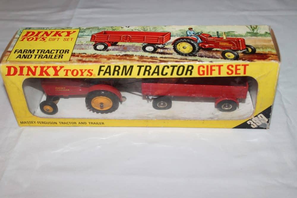 Dinky Toys 399 Farm Tractor & Trailer