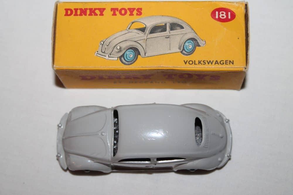 Dinky Toys 181 Volkswagen Beetle-top