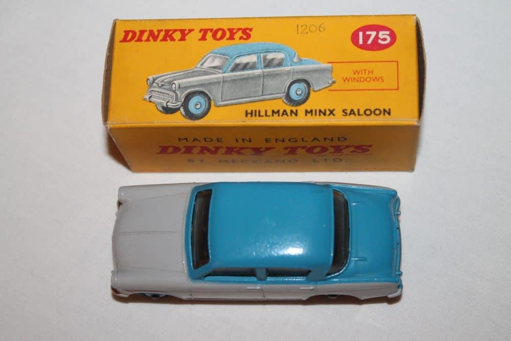 Dinky Toys 175 Hillman Minx-top