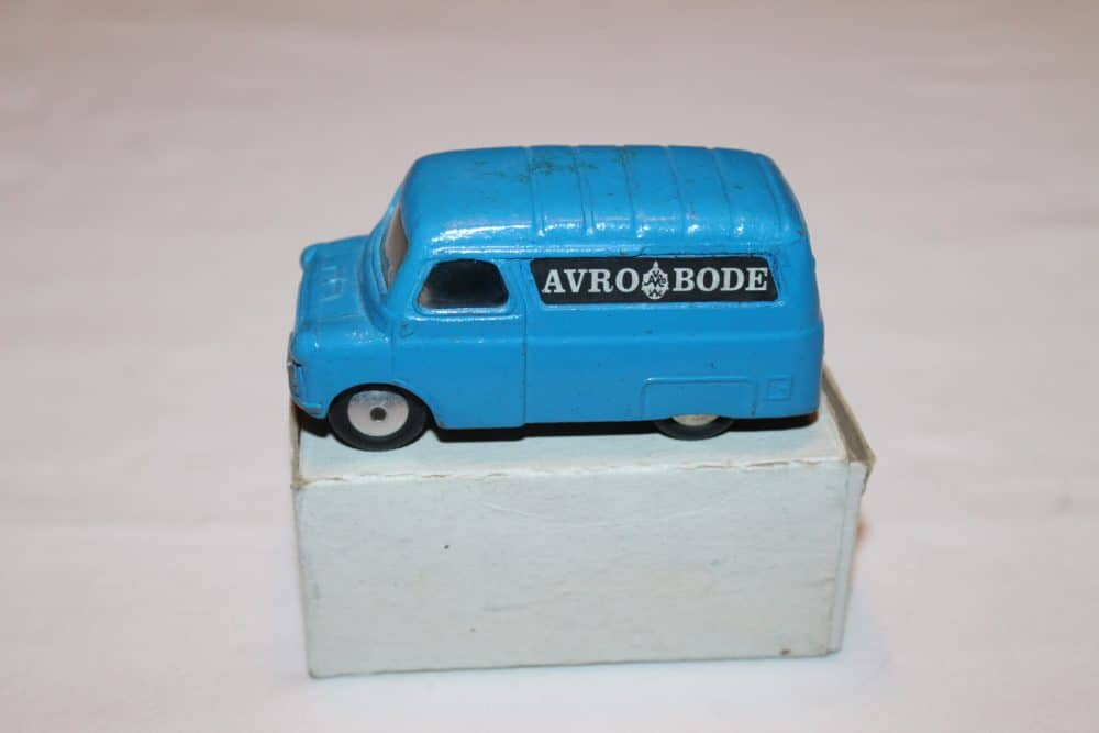 Corgi Toys 421 Dutch Promotional 'Avro Bode' Van