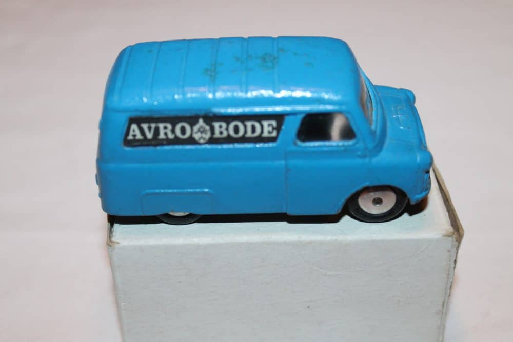 Corgi Toys 421 Dutch Promotional 'Avro Bode' Van-side
