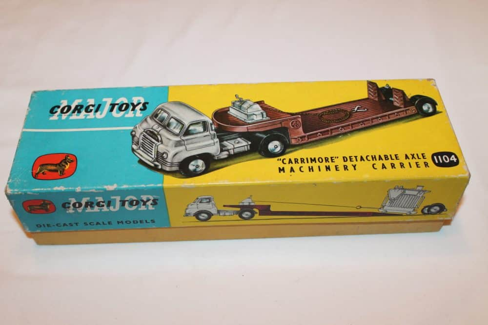 Corgi Toys 1104 Carrimore Machinery Carrier-box