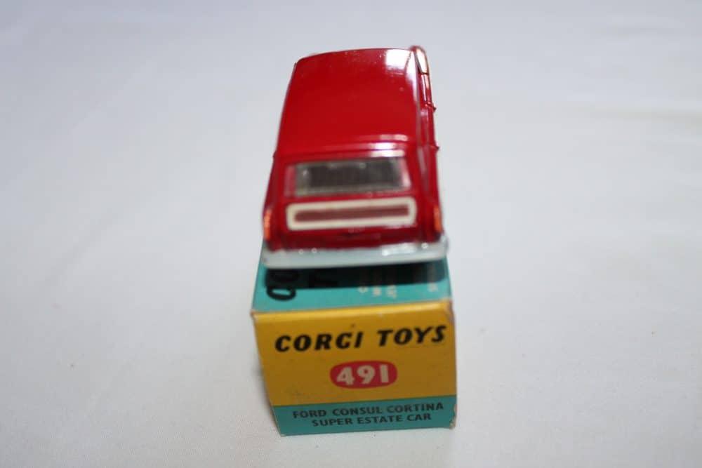 Corgi Toys 491 Ford Cortina Estate-back