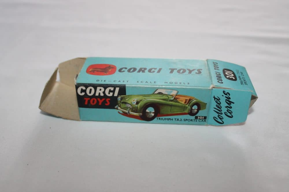 Corgi Toys 301 Triumph T.R.2. Sports Car-Box Only