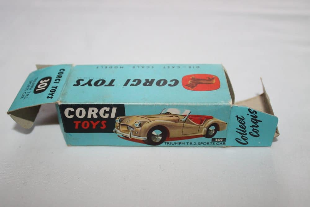 Corgi Toys 301 Triumph T.R.2. Sports Car-Box Only-side2