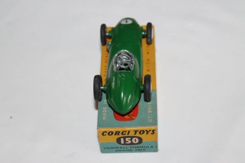 Corgi Toys 152 B.R.M Racing Car-back