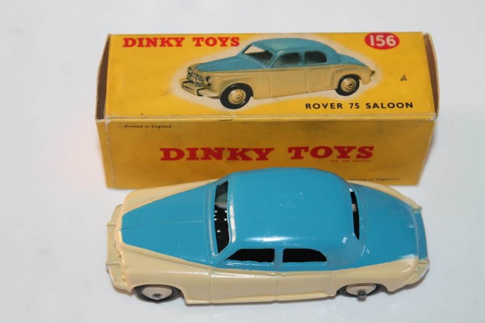 Dinky Toys 156 Rover 75-top