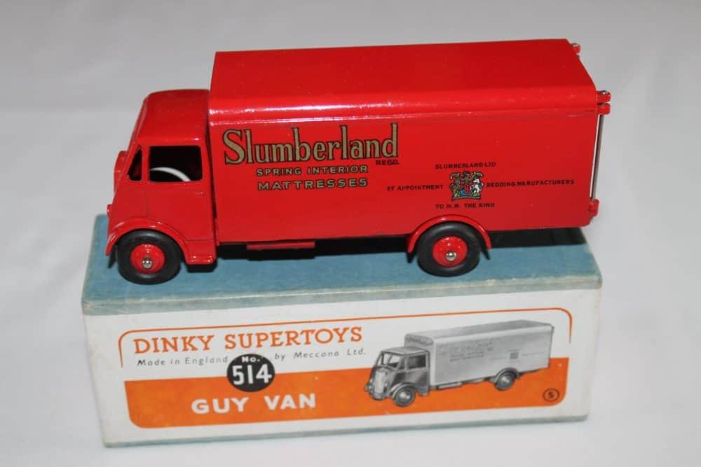 Dinky Toys 514 Guy Slumberland Van