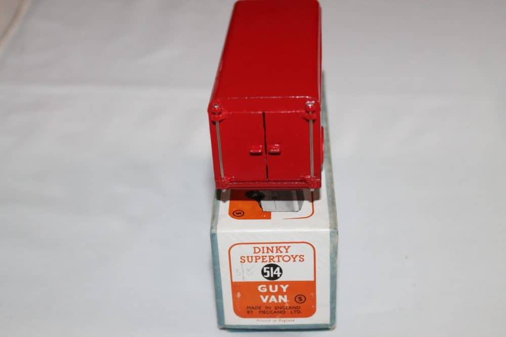 Dinky Toys 514 Guy Slumberland Van-back