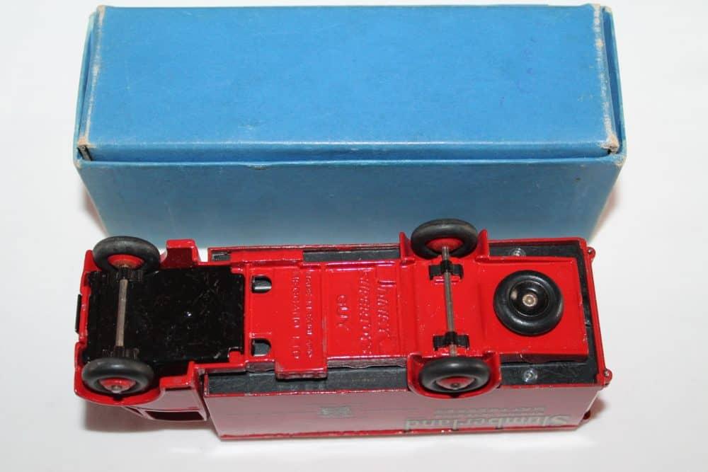 Dinky Toys 514 Guy Slumberland Van-base