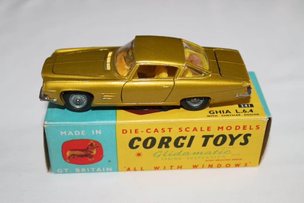 Corgi Toys 241 Ghia L.6.4