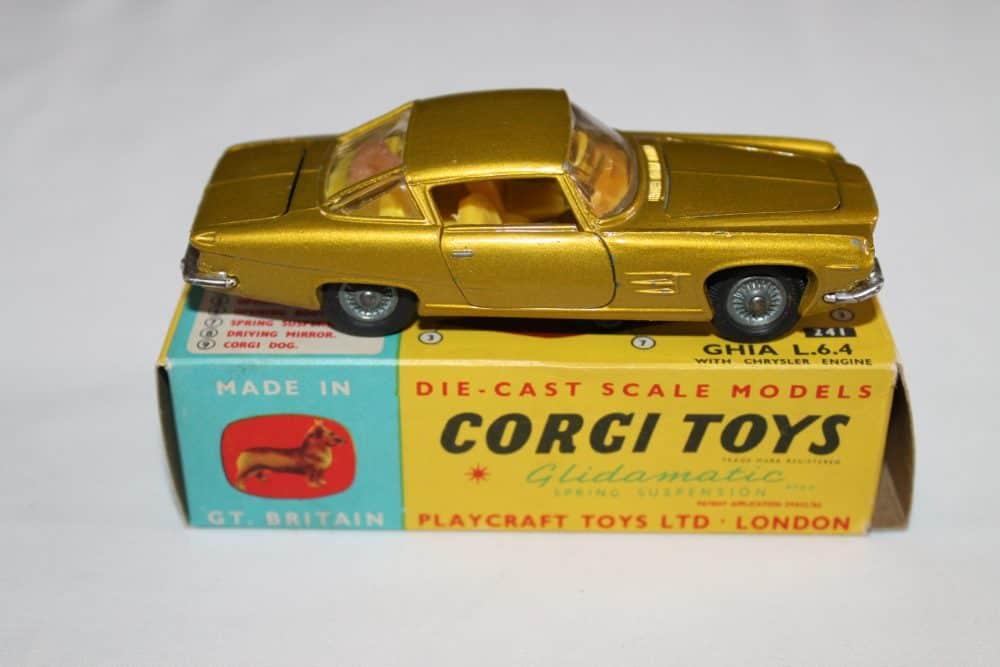 Corgi Toys 241 Ghia L.6.4-side