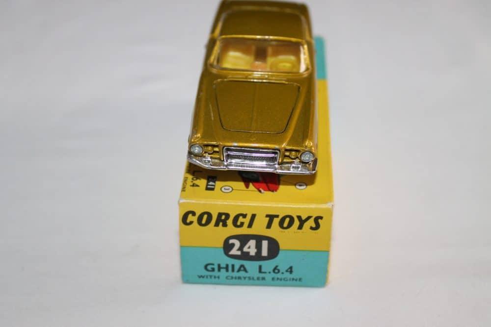 Corgi Toys 241 Ghia L.6.4-front