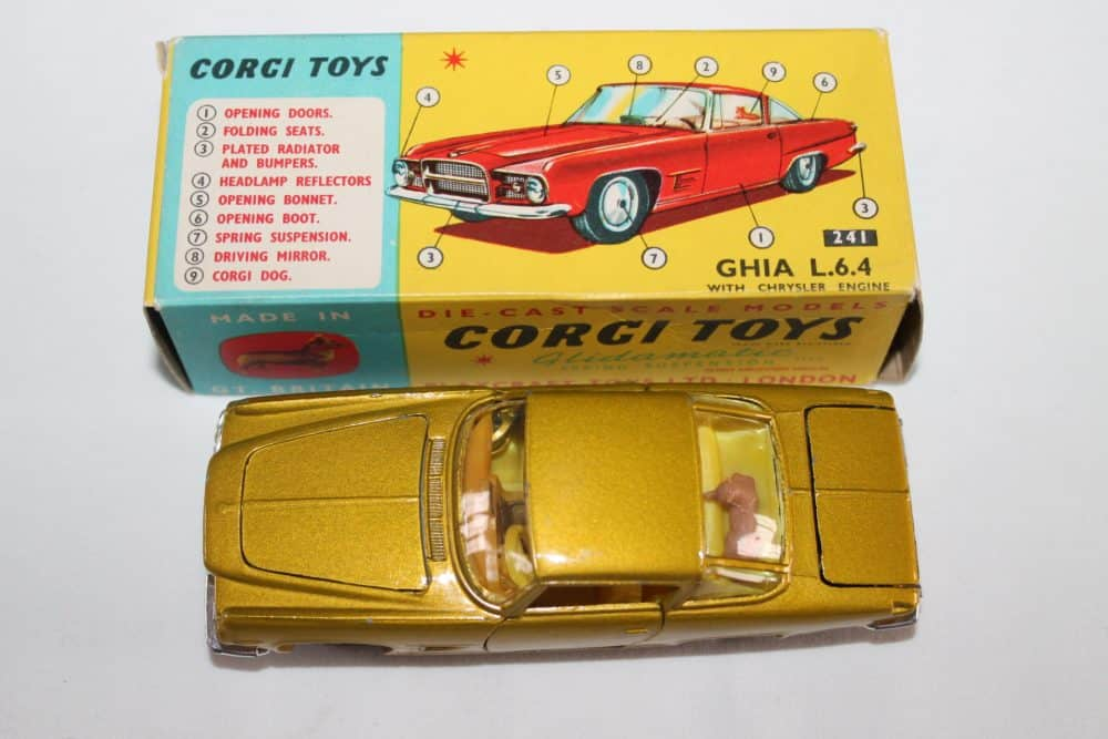 Corgi Toys 241 Ghia L.6.4-top
