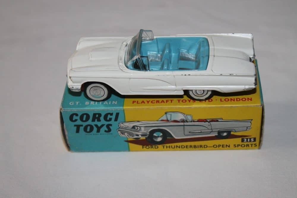 Corgi Toys 215 Ford Thunderbird