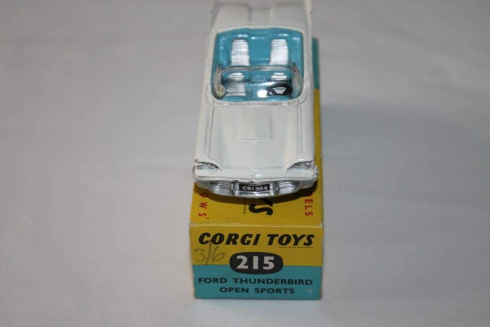 Corgi Toys 215 Ford Thunderbird-front