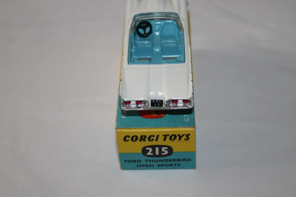 Corgi Toys 215 Ford Thunderbird-back