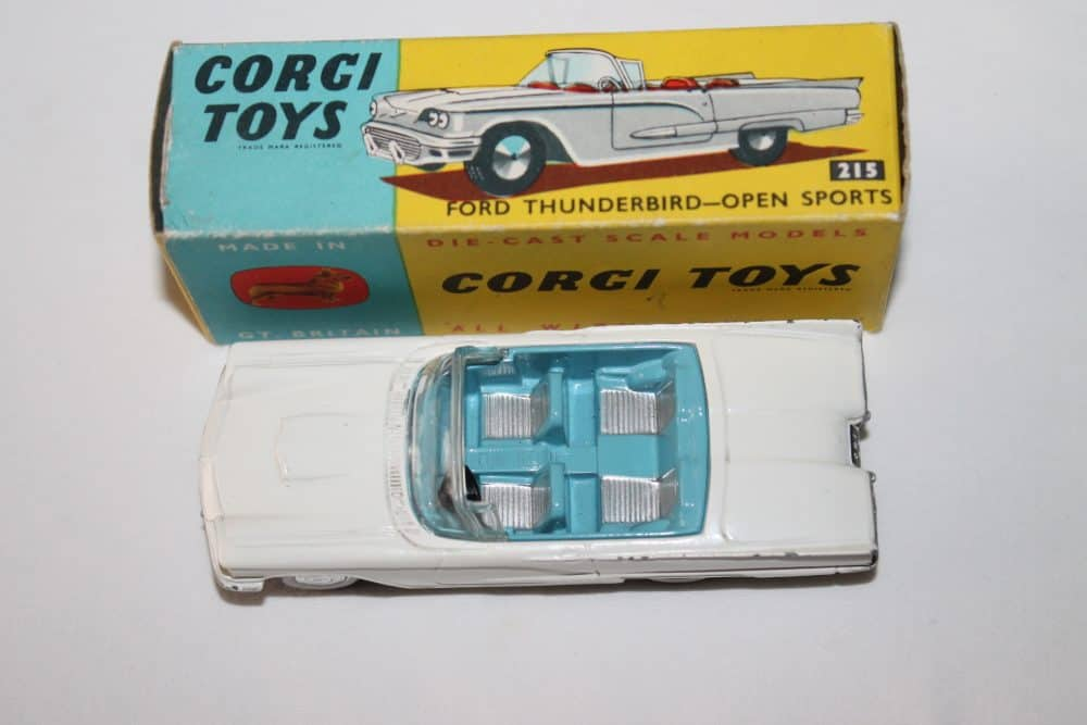 Corgi Toys 215 Ford Thunderbird-top