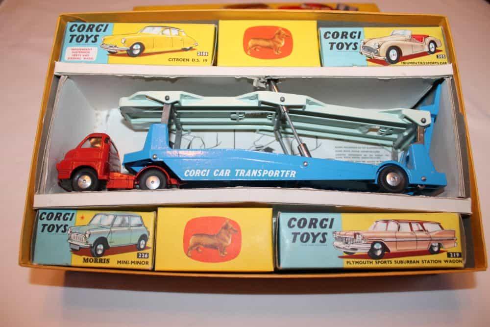 Corgi Toys No 1B Gift Set-openbox
