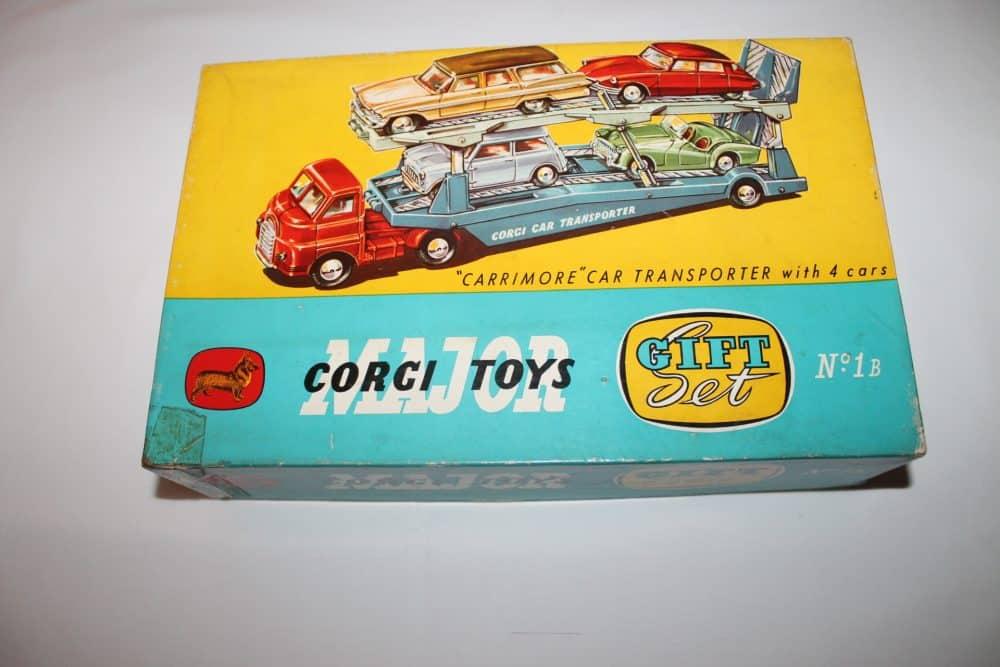 Corgi Toys No 1B Gift Setboxlid