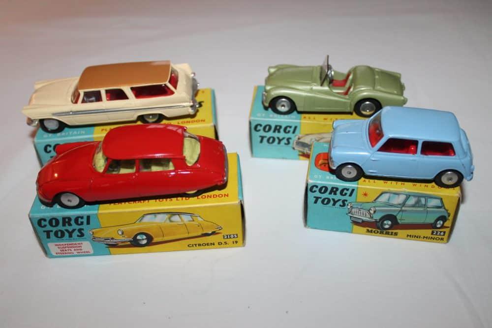 Corgi Toys No 1B Gift Set-carsleft