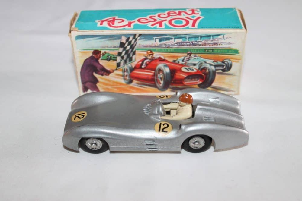 Crescent Toys 1284 Mercedes Benz 2.5 litre Grand Prix Racing Car