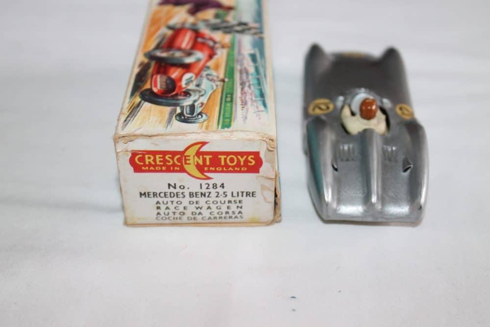 Crescent Toys 1284 Mercedes Benz 2.5 litre Grand Prix Racing Car-back