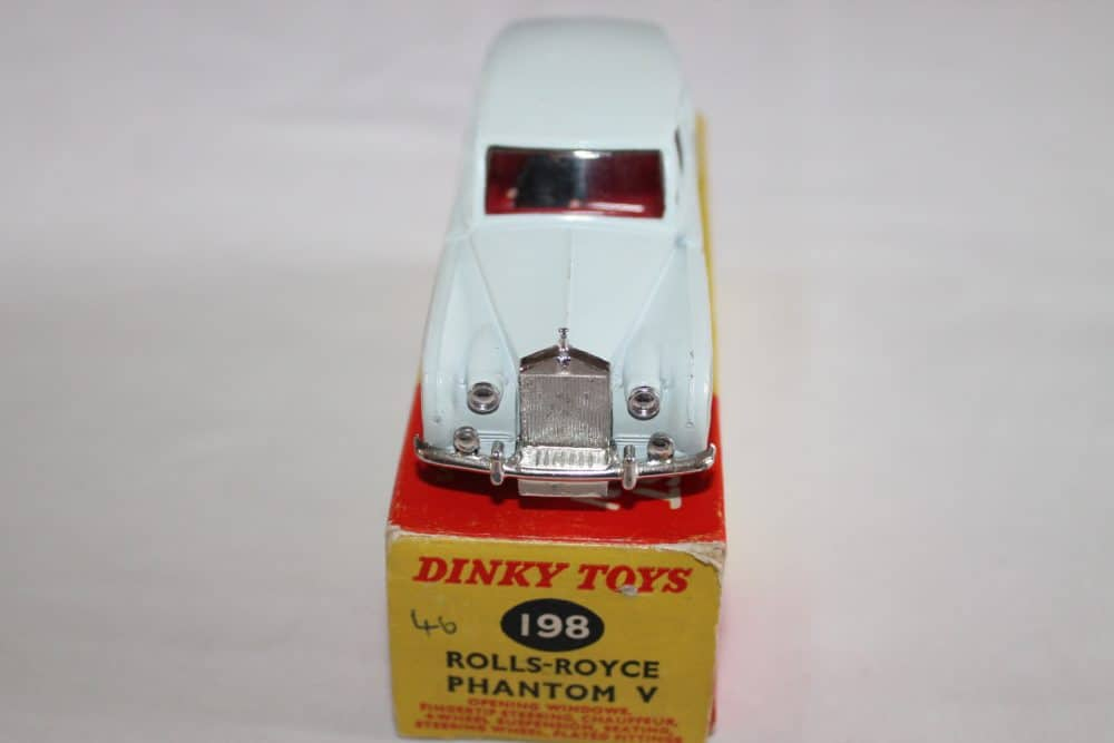 Dinky Toys 198 Rolls Royce-front