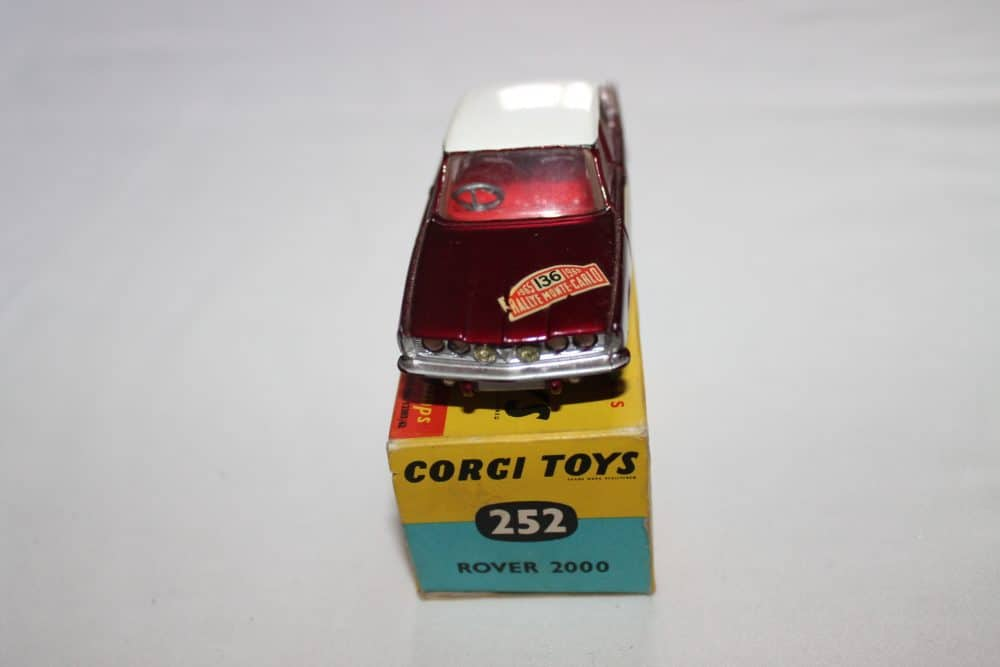 Corgi Toys 322 Rover 2000 1965 Monte Carlo Winners-front