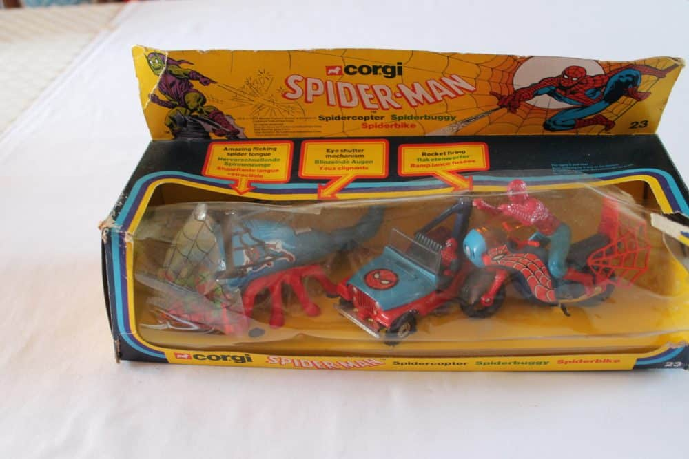 Corgi Toys GS23 Spiderman Gift Set